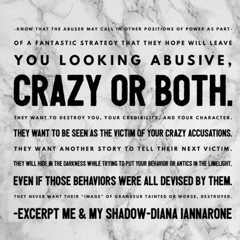 abusive crazy or both